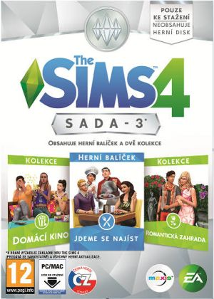 The Sims 4 Bundle Pack 3 - PC DVD