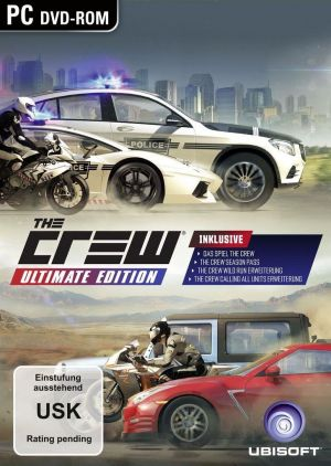 The Crew Ultimate Edition - PC DVD