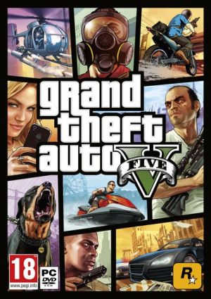 Grand Theft Auto V - PC HRA DVD