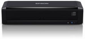 EPSON WorkForce DS-360W, A4, 1200 dpi, USB, wifi přenosný