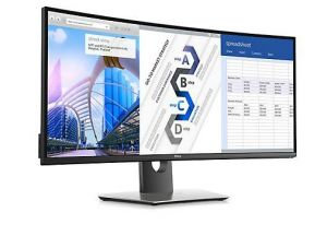 "DELL U3417W UltraSHARP 34"" WLED 21:9/ 8ms/ 3H-IPS/ HDMI/ miniDP/ DP/ 4x USB/ repro"