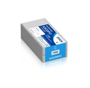 EPSON S020602 Ink cartridge for TM-C3500 Cyan-Modrá objem 32,6ml