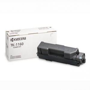 KYOCERA originální toner TK-1160 black, 7200str., KYOCERA ECOSYS P2040dn, P20
