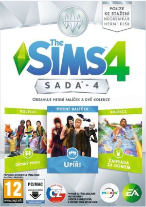 The Sims 4 bundle pack 5 - PC DVD