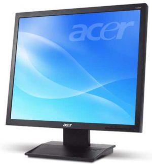 """ACER V196L LED monitor 19"""" 1280 x 1024 - 250cd/m2 - 5 ms - DVI, VGA - reproduktory"""