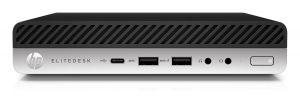 HP EliteDesk 800G3 DM / i5-7500T / 8GB / 256 GB SSD / INTEL HD / W10 Pro