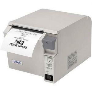 EPSON pokladní termo tiskárna TM-T70II, bílá, BT, USB, zdroj
