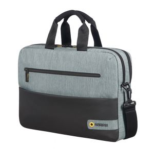 "American Tourister CITY DRIFT LAPTOP BAG 15.6"" BLACK/GREY"
