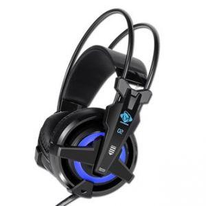 E-BLUE, Auroza EHS950 FPS, herní sluchátka s mikrofonem, ovládání hlasitosti, černá, USB m