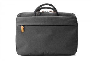 BOOQ Superslim 15, black-tan taška na MacBook