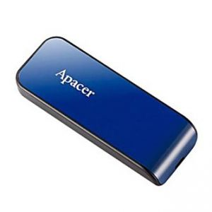 APACER USB Flash Drive, 2.0, 32GB, AH334 32GB Flash Drive, modrý, AP32GAH334U-1