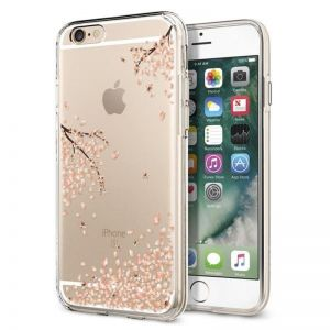 SPIGEN Liquid Crystal, shine blossom - pro APPLE iPhone 6/6s kryt
