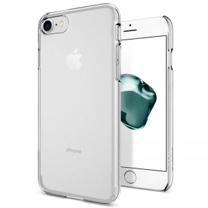 SPIGEN Thin Fit, crystal clear - pro APPLE iPhone 7 kryt