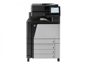 HP LaserJet Managed Flow MFP M880zm - Multifunkční tiskárna - barva - laser - A3/Ledger (2
