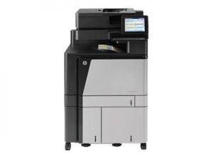 HP LaserJet Managed Flow MFP M880zm+ - Multifunkční tiskárna - barva - laser - A3/Ledger (