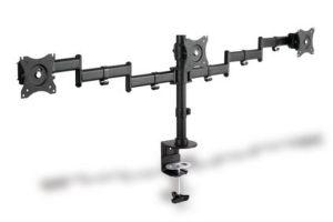 DIGITUS univerzální držák pro tři monitory se svorkovým příslušenstvím