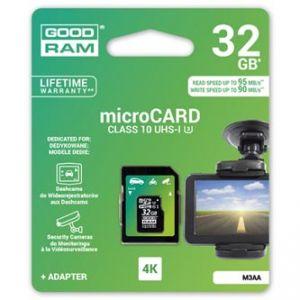 GOODRAM Micro SDXC, 32GB, sada micro SDXC a čtečky karet, M3AA-0320R11-DD, UHS-I U3