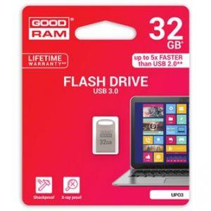 GOODRAM USB flash disk, 3.0, 32GB, UPO3, stříbrná, UPO3-0320S0R11