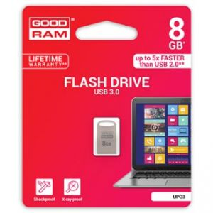 GOODRAM USB flash disk, 3.0, 8GB, UPO3, stříbrná, UPO3-0080S0R11