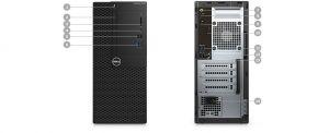 DELL OptiPlex MT 3050 Core i5-7500/4GB/500GB/INTEL HD/Win 10 Pro 64bit/3Yr NBD