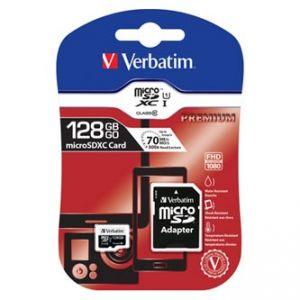 VERBATIM Paměťová karta micro SDXC, 128GB, SDXC, 44085, Class 10 UHS-I