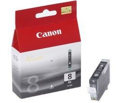 CANON orig. ink CLI8BK, black,0620B001 - poškození obalu kategorie B (viz popis)
