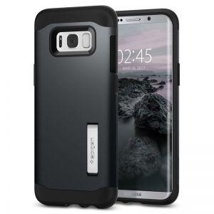 SPIGEN Slim ARMOR, metal slate - pro SAMSUNG Galaxy S8