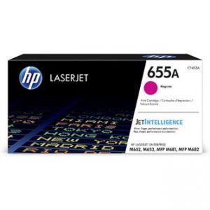 HP originální toner CF453A, magenta, 10500str., HP 655A, HP Color LaserJet Enterprise M652