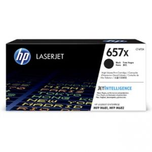 HP originální toner CF470X, black, 28000str., HP 657X, HP LaserJet Enterprise MFP M681dh,M