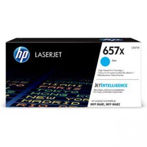HP originální toner CF471X, cyan, 23000str., HP 657X, HP LaserJet Enterprise MFP M681dh,MF