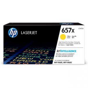 HP originální toner CF472X, yellow, 23000str., HP 657X, HP LaserJet Enterprise MFP M681dh,