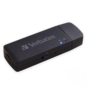 VERBATIM Mediashare Wireless Mini, 2.0, černý