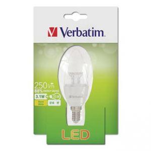LED žárovka VERBATIM E14, 52636, 220-240V, 3.1W, 250lm, 2700k, teplá, 20000h