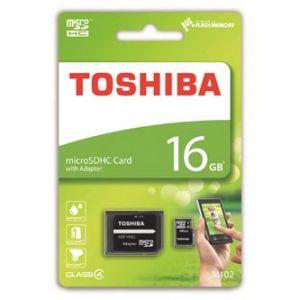 TOSHIBA paměťová karta M102, 16GB, micro SDHC, SDU16GSDHC4M102M2TR, Class 4