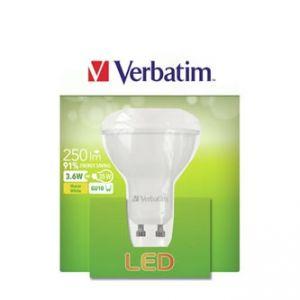 LED žárovka VERBATIM GU10, 52643, 220-240V, 3.6W, 250lm, 2700k, teplá, 20000h