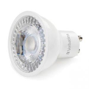 LED žárovka VERBATIM GU10, 52644, 220-240V, 5W, 350lm, 2700k, teplá, 20000h