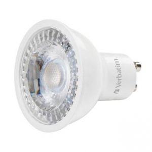 LED žárovka VERBATIM GU10, 52630, 220-240V, 5W, 370lm, 2700k, teplá, 20000h