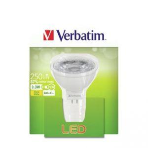 LED žárovka VERBATIM GU5.3, 52645, 12V, 3.3W, 250lm, 2700k, teplá, 20000h
