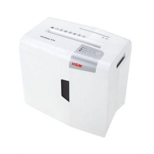 HSM Skartovací stroj S10 white , koš 18 l, proužek 6mm, 10 listů A4 80g najednou