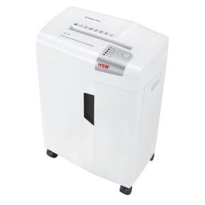 HSM X13 Skartovačka bílá spolehlivý skartovací stroj řez 4x37 mm, koš 23l, až 13listů A4