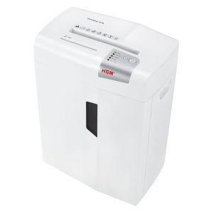 HSM X15 Skartovačka bílá řez 4x37mm, koš 26 l, až 15 listů A4 80g najednou, CD, sponky