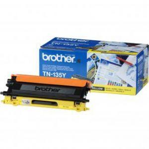 Toner BROTHER yellow, TN135Y, 4000s - poškození obalu kategorie E (viz popis)