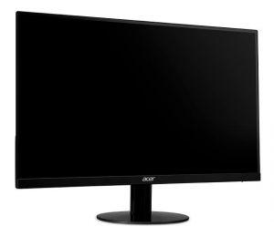 ACER LCD SA270bid 27 IPS LED/1920x1080/100M:1/4ms/250nits/VGA/DVI/HDMI/ACER EcoDisplay/Bl
