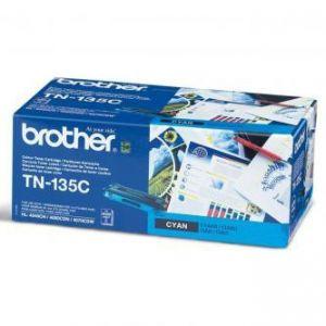 Toner BROTHER cyan, TN135C - poškození obalu kategorie B (viz. popis)