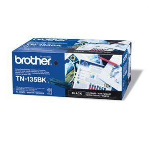 Toner BROTHER black, TN135BK, 5000s - poškození obalu kategorie B (viz popis)