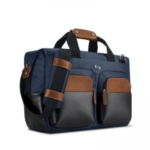 SOLO Sag Harbor Briefcase, blue - 15.6""