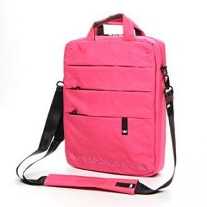 """Messenger na notebook 15,6"""", NT010, růžový z nylonu, Crown"""