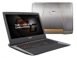 ASUS G752VS(KBL)-BA263T i7-7700HQ/8GB+8GB/256GBSSD M.2+1TB 7200 ot./DVDRW/GeForce GTX1070
