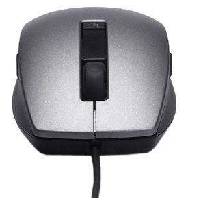 DELL myš, laserová s posunovacím kolečkem (6 tlačítek), USB, černostříbrná