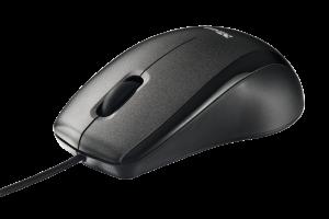 myš TRUST Carve USB Optical Mouse - Black